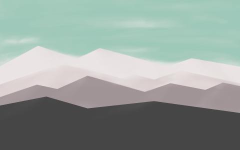 自用6张简约风壁纸分享。